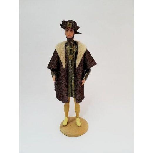King Zygmunt Agust II Doll